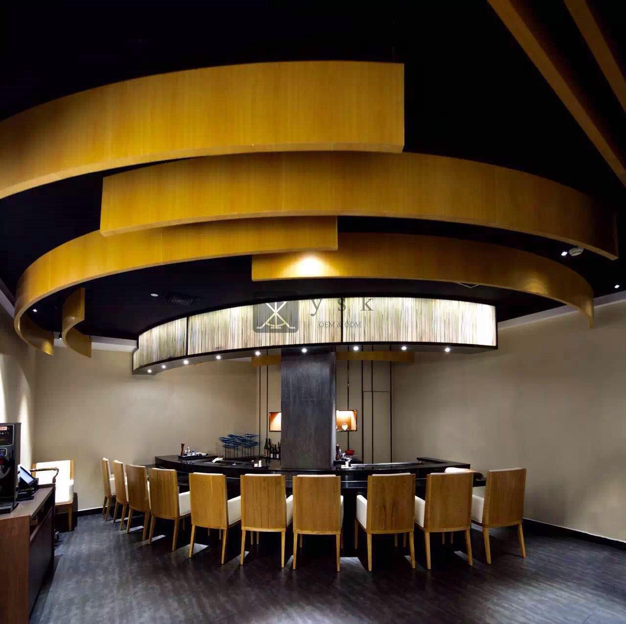 Japanese restaurant in guangzhou ysk hotel furniture
