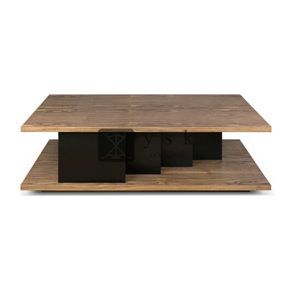 Ct 237 High Quality Hotel Suite Wooden Teapoy Centre Table