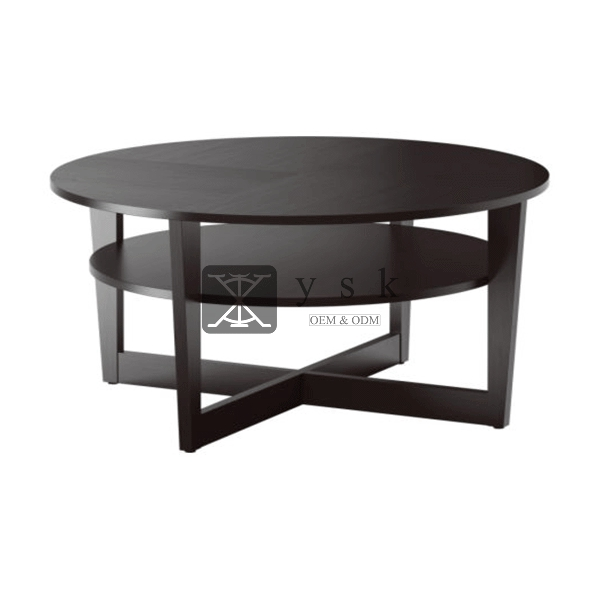 CT-269 Modern Design Wooden Sofa Side Table For Hotel